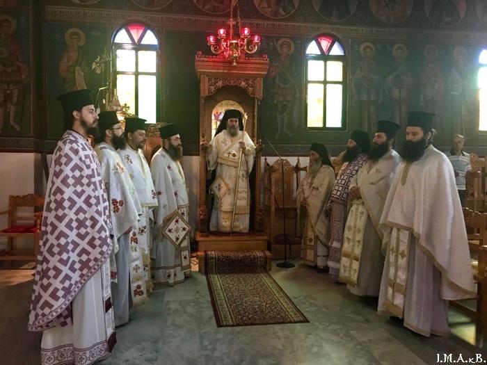 ИПЦ Греции: Праздник Св. влкмч. Пантелеимона в Ахарнэ (Аттика). ФОТО