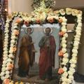 Ο Εορτασμός των Πρωτοκορυφαίων Πέτρου και Παύλου στους ομώνυμους Ι.Ν. Δάφνης Αθηνών και Λεύκτρων Βοιωτίας