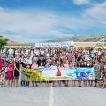 Ολοκλήρωση της κατασκηνωτικής περιόδου της ομάδας των κοριτσιών των Παιδικών κατασκηνώσεων  το «Περιβόλι της Σουμελά» 2018