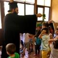 Αγιασμός στον παιδικό σταθμό και στην αθλητική ομάδα «Απόλλωνας» στη Γκορυτσά Ασπροπύργου