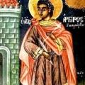 Η εορτή του Αγίου νεομάρτυρος Αργυρίου στην Ανθούσα