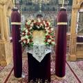 Η Β' Στάση των Χαιρετισμών στους Ι. Ν. Τιμίου Προδρόμου Λουτουφίου και Ευαγγελιστρίας στο Πυρί Θηβών