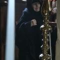 Εξόδιος ακολουθία Γερόντισσας Ξένης Ιερά Μονή Αγ. Ματρώνας Χίου